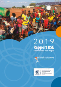 ODIAL_SOLUTIONS_Rapport_RSE_COP_2019_couverture